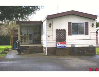 Main Photo: 56 45111 WOLFE Road in Chilliwack: Chilliwack  W Young-Well Manufactured Home for sale : MLS® # H2701101