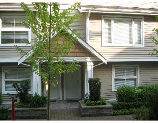 "Main Photo: 5 168 6TH Street in New_Westminster: Uptown NW Townhouse for sale in ""ROYAL CITY TERRACE"" (New Westminster)  : MLS® # V647960"