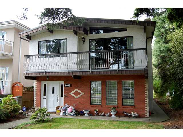 Main Photo: 6075 CHESTER ST in Vancouver: Fraser VE House for sale (Vancouver East)  : MLS® # V913819