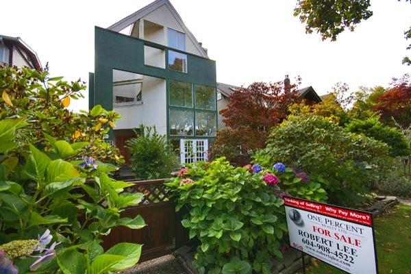 Main Photo: 2246 W 13TH Avenue in Vancouver: Kitsilano House 1/2 Duplex for sale (Vancouver West)  : MLS® # V677455