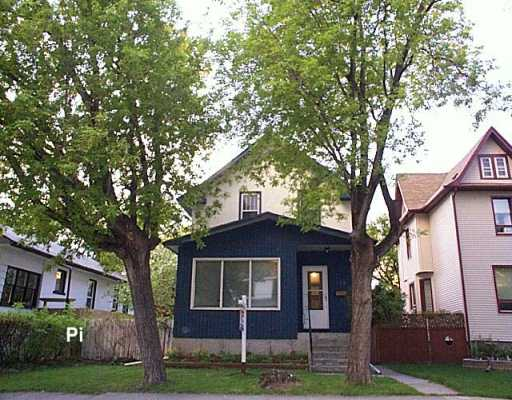 Main Photo: 518 TELFER Street South in Winnipeg: West End / Wolseley Single Family Detached for sale (West Winnipeg)  : MLS® # 2606951
