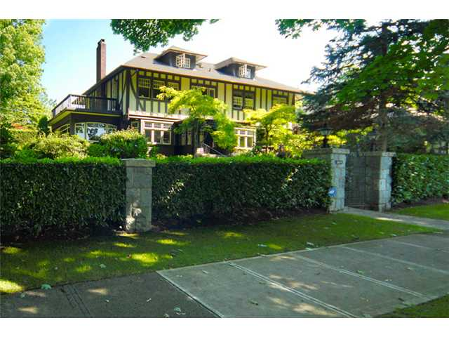 Main Photo: 1699 LAURIER AV in Vancouver: Shaughnessy House for sale (Vancouver West)  : MLS® # V904755