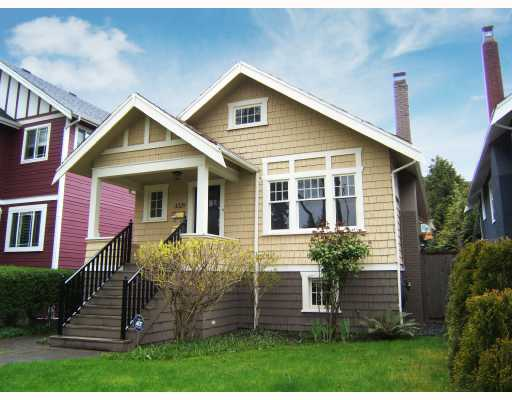 "Main Photo: 3329 W 10TH Avenue in Vancouver: Kitsilano House for sale in """"KITS"""" (Vancouver West)  : MLS® # V704507"