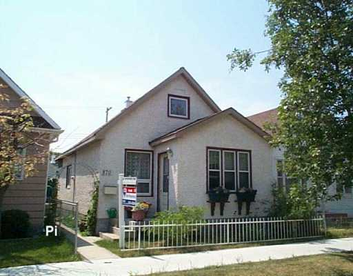 Main Photo: 870 ABERDEEN Avenue in Winnipeg: North End Single Family Detached for sale (North West Winnipeg)  : MLS®# 2611554