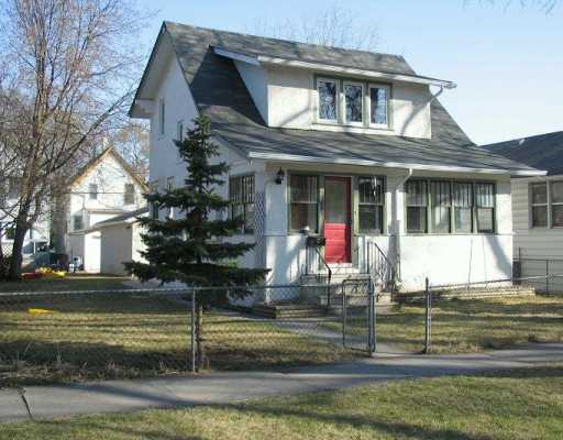 Main Photo: 805 GARWOOD Avenue in WINNIPEG: Fort Rouge / Crescentwood / Riverview Single Family Detached for sale (South Winnipeg)  : MLS(r) # 2706210
