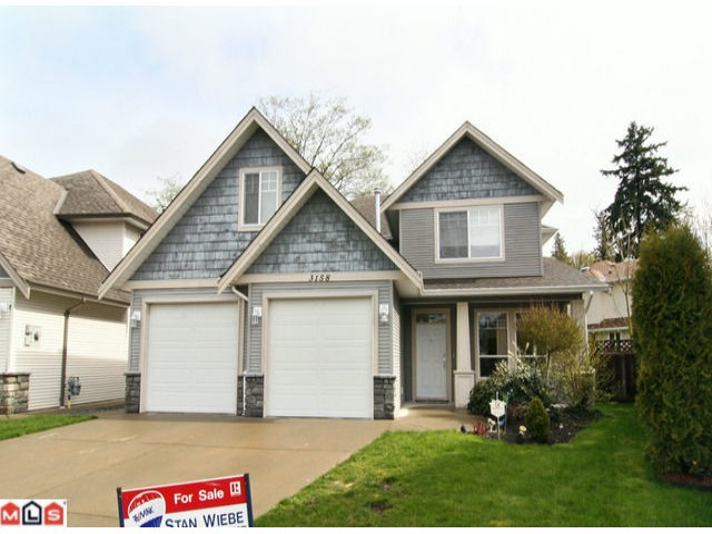 "Main Photo: 3158 COALMAN PL in Abbotsford: Aberdeen House for sale in ""STATION ROAD/ALDERGROVE"" : MLS®# F1110805"