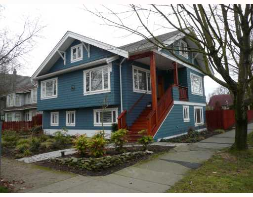 Main Photo: 3088 W 11TH Avenue in Vancouver: Kitsilano House for sale (Vancouver West)  : MLS® # V686190