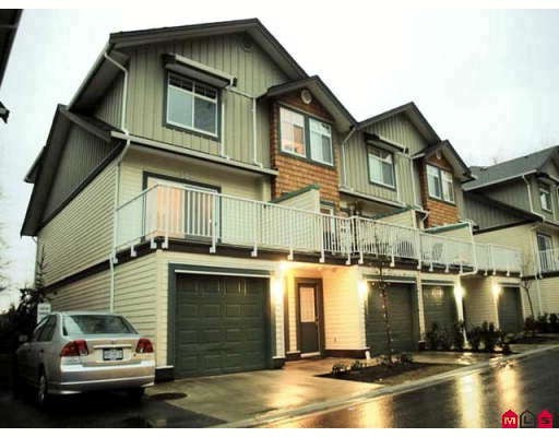 "Main Photo: 50 16588 FRASER Highway in Surrey: Fleetwood Tynehead Townhouse for sale in ""Castle Pines"" : MLS®# F2805368"