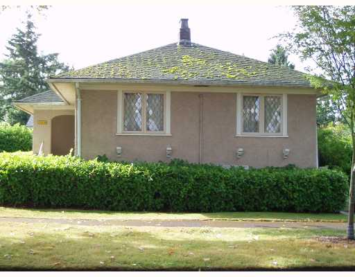 Main Photo: 1008 CONNAUGHT Drive in Vancouver: Shaughnessy House for sale (Vancouver West)  : MLS(r) # V666974