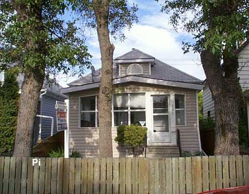Main Photo: 331 INGLEWOOD Street in Winnipeg: St James Single Family Detached for sale (West Winnipeg)  : MLS® # 2612872