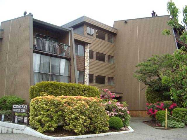 "Main Photo: # 110 9101 HORNE ST in Burnaby: Government Road Condo for sale in ""WOODSTONE PLACE"" (Burnaby North)  : MLS® # V833656"