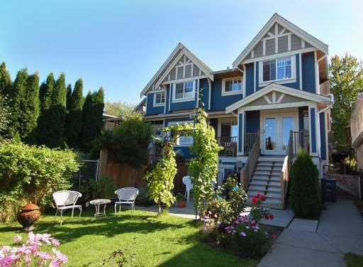 Main Photo: 1135 E. 15th Avenue in Vancouver: Mount Pleasant VE Townhouse for sale (Vancouver East)  : MLS® # V751654