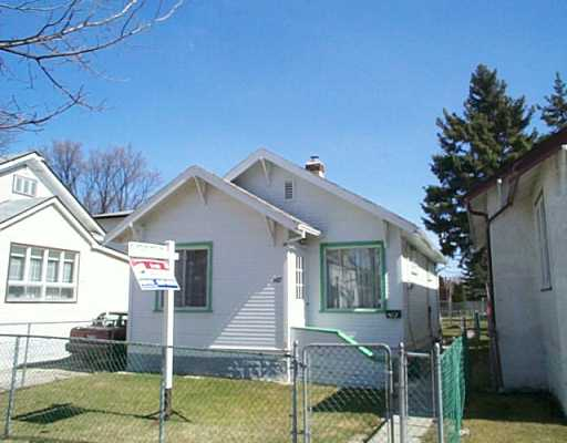 Main Photo: 467 MCKENZIE Street in Winnipeg: North End Single Family Detached for sale (North West Winnipeg)  : MLS® # 2504801