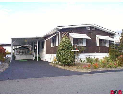 "Main Photo: 74 15875 20TH AV in White Rock: King George Corridor Manufactured Home for sale in ""Searidge Bays"" (South Surrey White Rock)  : MLS(r) # F2618251"