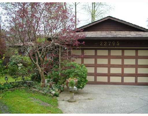 Main Photo: 22795 BALABANIAN Crescent in Maple_Ridge: East Central House for sale (Maple Ridge)  : MLS® # V707313
