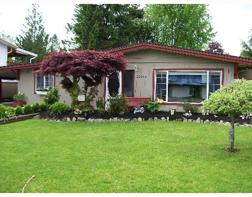 Main Photo: 22950 ROGERS Avenue in Maple_Ridge: East Central House for sale (Maple Ridge)  : MLS® # V647869