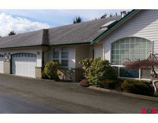 "Main Photo: 45160 SOUTH SUMAS Road in Sardis: Sardis West Vedder Rd Townhouse for sale in ""COTTAGE LANE"" : MLS®# H2700769"