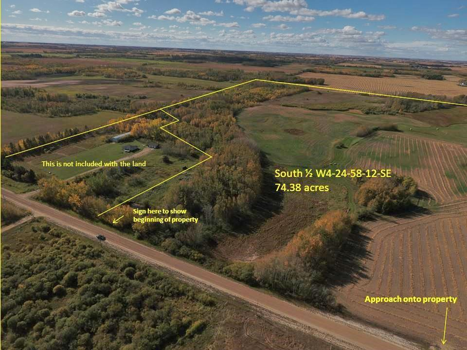 FEATURED LISTING: RR 240 betw Twp 580 & Twp 582 (south 1/2) Rural Sturgeon County