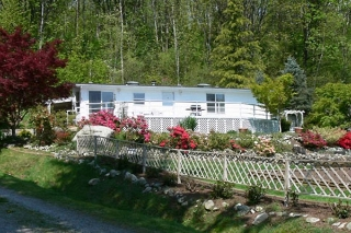 "Main Photo: 89 43201 LOUGHEED Highway in Mission: Mission BC Manufactured Home for sale in ""Nicoamin Village"" : MLS® # F2814797"