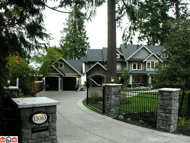 Main Photo: 13063 CRESCENT RD in Surrey: House for sale : MLS® # F1006289