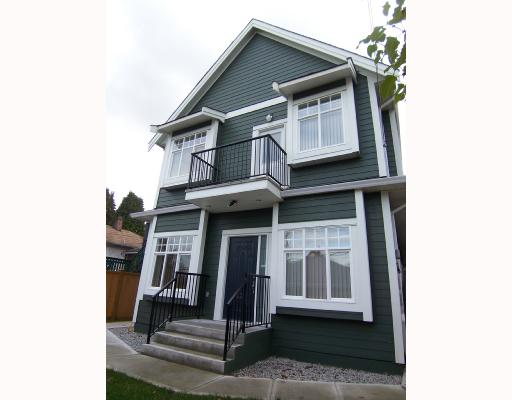 Main Photo: 1783 E 15TH Avenue in Vancouver: Grandview VE House 1/2 Duplex for sale (Vancouver East)  : MLS® # V688271
