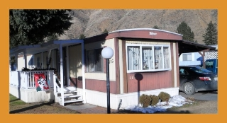 Main Photo: 115-2401 Ord Rd in Kamloops: Manufactured Home for sale : MLS®# 107356