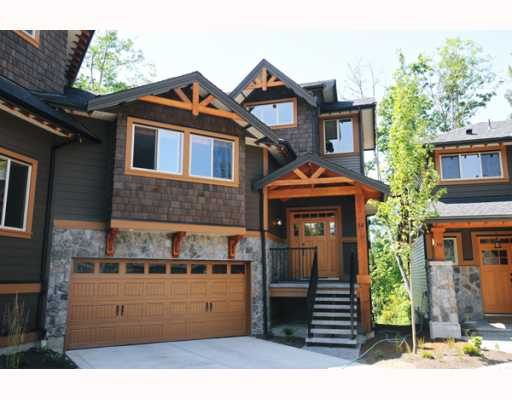 "Main Photo: 69 24185 106B Avenue in Maple Ridge: Albion House 1/2 Duplex for sale in ""TRAILS EDGE"" : MLS® # V796163"