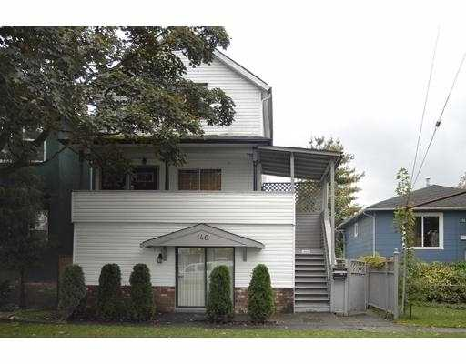 Main Photo: 146 E 18TH Avenue in Vancouver: Main House Triplex for sale (Vancouver East)  : MLS® # V690253