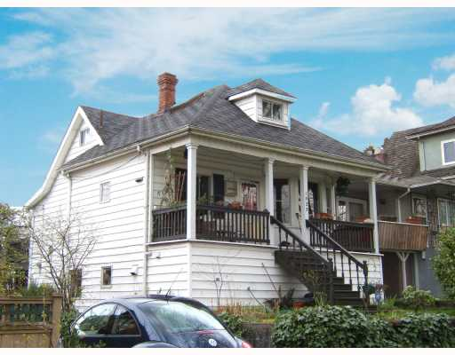"Main Photo: 1923 E 7TH Avenue in Vancouver: Grandview VE House for sale in """"THE DRIVE"""" (Vancouver East)  : MLS®# V702268"