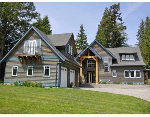 Main Photo: 1106 SUNNYSIDE Road in Gibsons: Gibsons & Area House for sale (Sunshine Coast)  : MLS® # V644175