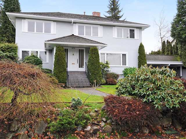 Main Photo: 6076 ANGUS Drive in Vancouver: South Granville House for sale (Vancouver West)  : MLS® # V870070