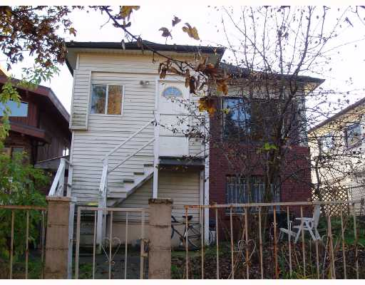 Main Photo: 854 E 14TH Avenue in Vancouver: Mount Pleasant VE House for sale (Vancouver East)  : MLS®# V676980