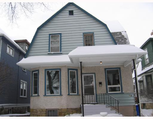 Main Photo: 98 WALNUT Street in WINNIPEG: West End / Wolseley Residential for sale (West Winnipeg)  : MLS(r) # 2720060