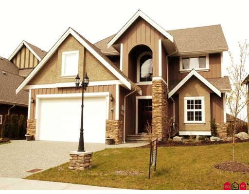 "Main Photo: 7 3580 CREEKSTONE Drive in Abbotsford: Abbotsford East House for sale in ""Creekstone Estates"" : MLS® # F2808344"