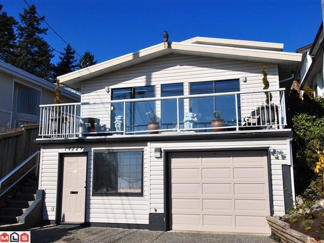 "Main Photo: 14729 UPPER ROPER AV: White Rock House for sale in ""WESTSIDE"" (South Surrey White Rock)  : MLS® # F1023452"