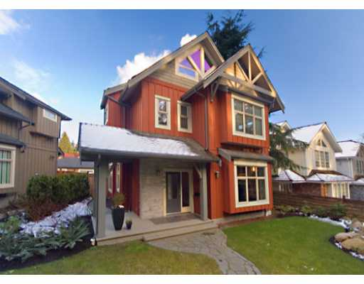 Main Photo: 5890 CROWN Street in Vancouver: Southlands House for sale (Vancouver West)  : MLS® # V633644