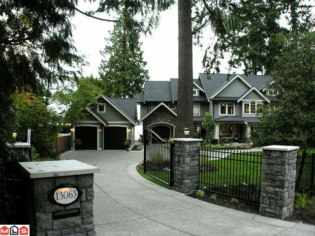Main Photo: 13063 CRESCENT Road in Surrey: Elgin Chantrell House for sale (South Surrey White Rock)  : MLS® # F1006289