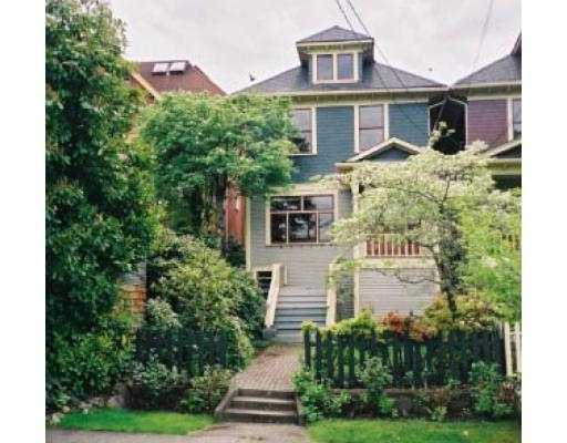 Main Photo: 42 W 10TH AV in Vancouver: Mount Pleasant VW House for sale (Vancouver West)  : MLS® # V562944