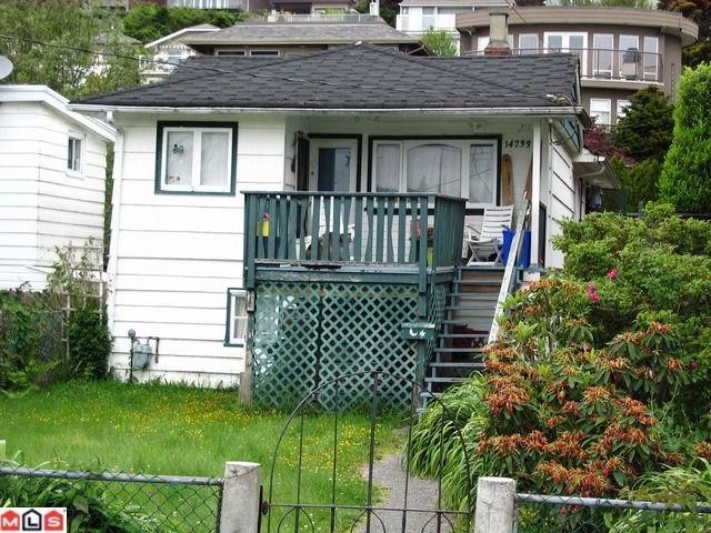 "Main Photo: 14733 GORDON Avenue: White Rock House for sale in ""WHITE ROCK WEST BEACH"" (South Surrey White Rock)  : MLS® # F1014910"
