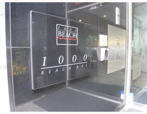 "Main Photo: 1101 1000 BEACH Avenue in Vancouver: False Creek North Condo for sale in ""1000 Beach"" (Vancouver West)  : MLS®# V781234"