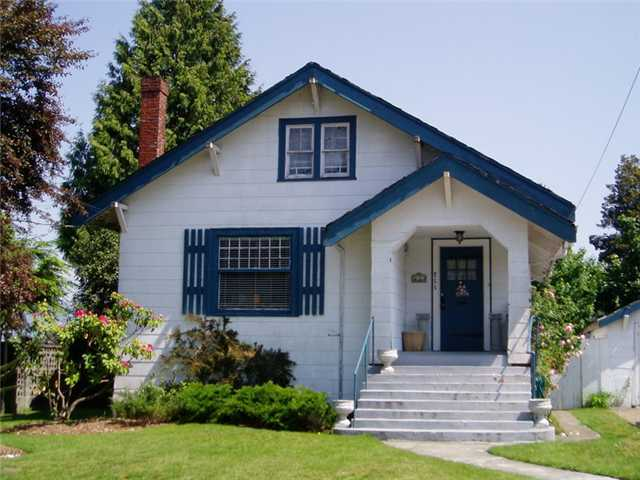 "Main Photo: 711 4TH Street in New Westminster: GlenBrooke North House for sale in ""GLENBROOKE NORTH"" : MLS® # V847929"