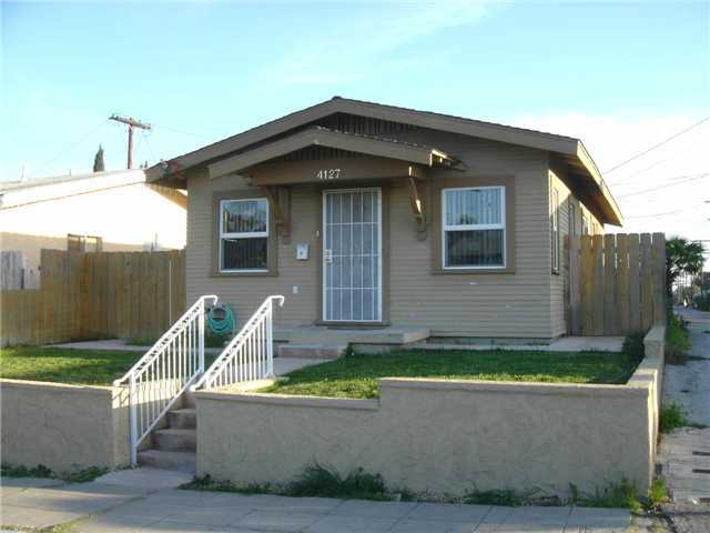 Main Photo: CITY HEIGHTS House for sale : 2 bedrooms :  in San Diego