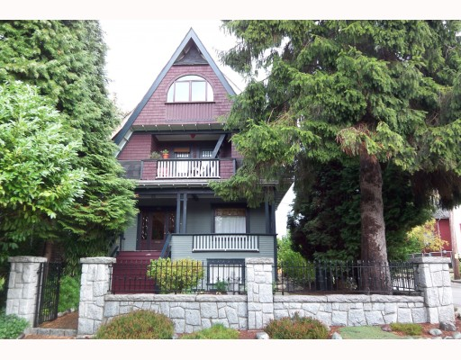 Main Photo: 1162 ROSE Street in Vancouver: Grandview VE House for sale (Vancouver East)  : MLS® # V791295