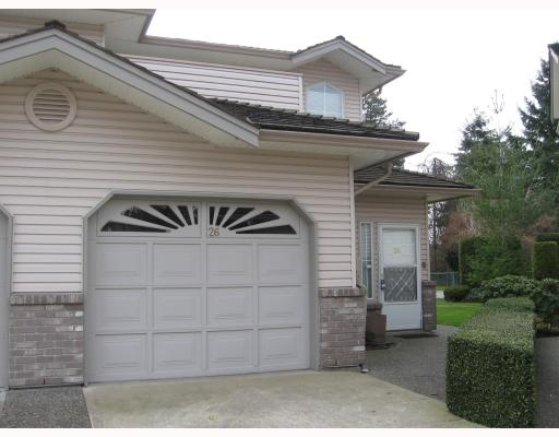 Main Photo: 26 19060 FORD Road in Pitt_Meadows: Central Meadows Townhouse for sale (Pitt Meadows)  : MLS®# V758700
