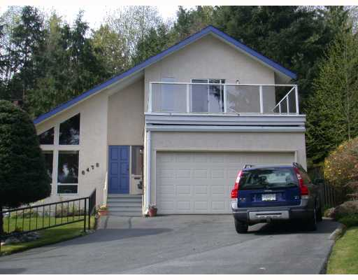Main Photo: 6475 RALEIGH Street in West_Vancouver: Horseshoe Bay WV House for sale (West Vancouver)  : MLS®# V762199