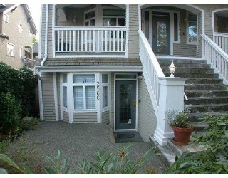 Main Photo: 2566 W 5TH AV in Vancouver: Kitsilano Townhouse for sale (Vancouver West)  : MLS® # V563385
