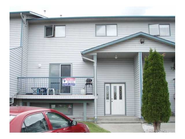Photo 1: 115 433 KILLOREN Crescent in Prince George: Heritage Townhouse for sale (PG City West (Zone 71))  : MLS® # N202063