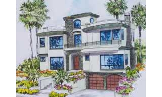 Main Photo: LA JOLLA Residential for sale : 5 bedrooms : 5519 Chelsea
