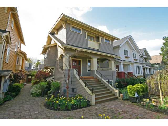"Main Photo: 3538 W 5TH Avenue in Vancouver: Kitsilano Townhouse for sale in ""BOEUR HOUSE"" (Vancouver West)  : MLS® # V822581"