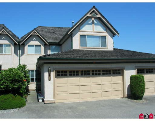 "Main Photo: 35 8567 164TH Street in Surrey: Fleetwood Tynehead Townhouse for sale in ""Monta Rosa"" : MLS® # F2821022"